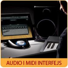 Audio i midi interfejs