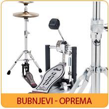 Bubnjevi - Oprema