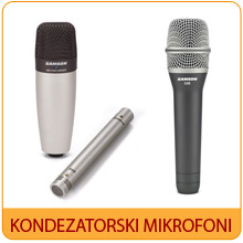 Kondezatorski mikrofoni